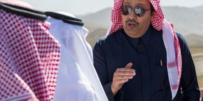 أمير منطقة الباحة يدشن مشروع جسر التقاطع رقم (٣) بالطريق الدائرى