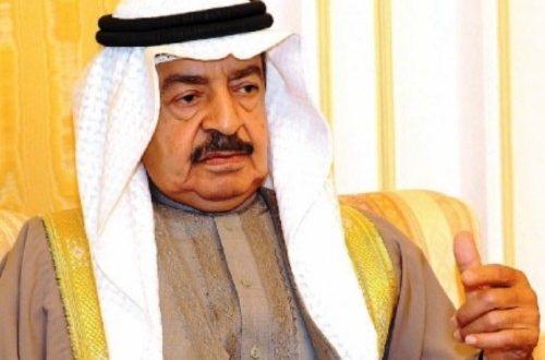 رئيس الوزراء البحريني: لولا السعودية لكانت دولنا في وضع لا يسر