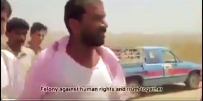 رأى كاميرا فوقف أمامها يتحدث عن معاناته فضربه الحوثيون بأعقاب البنادق حتى الموت (فيديو)