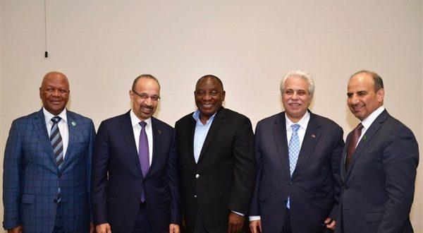 المملكة توقع مذكرة نوايا لدراسة إنشاء مصفاة للنفط في جنوب أفريقيا