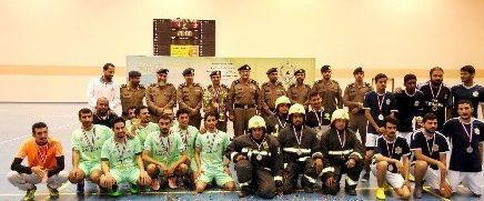 مدني الباحة يختتم الأنشطة الرياضية للعام الحالي