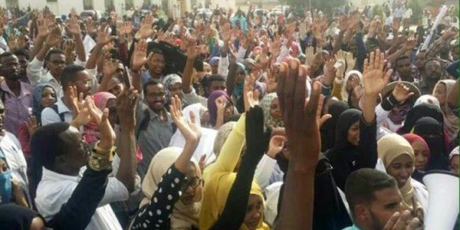 قوى الحرية والتغيير تعلن الإضراب الشامل في السودان