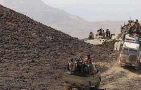 الجيش اليمني يسيطر على أجزاء واسعة من جبل النار
