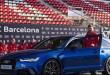 'أودي' تطلب من لاعبي برشلونة إعادة سياراتها
