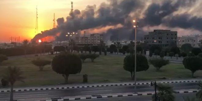 """""""وول ستريت"""": خبراء أمريكيون وسعوديون يحققون في ملابسات الهجوم على """"أرامكو"""""""