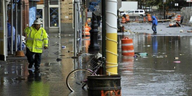 نيويورك تحارب التغير المناخي بأكياس الرمل!