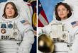 خروج الرائدتين الأمريكيتين إلى الفضاء المفتوح