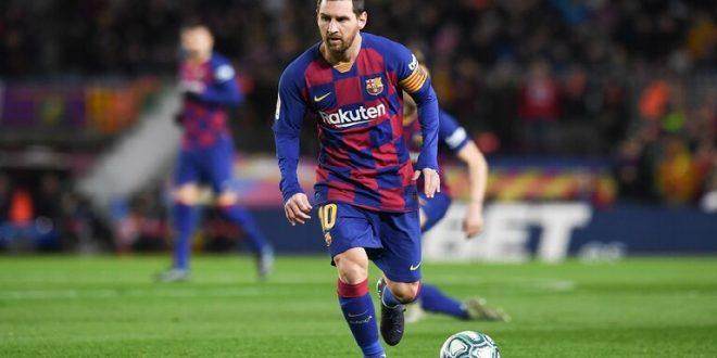 ميسي على موعد مع رقم مميز في مباراة برشلونة وفالنسيا الليلة