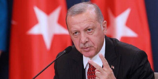"""""""حرييت"""" عن أردوغان: نشرنا 35 عسكريا تركيا في ليبيا"""