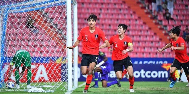 """شاهد.. """"الشمشون"""" الكوري بطلا لكأس آسيا للشباب على حساب """"صقور"""" السعودية"""