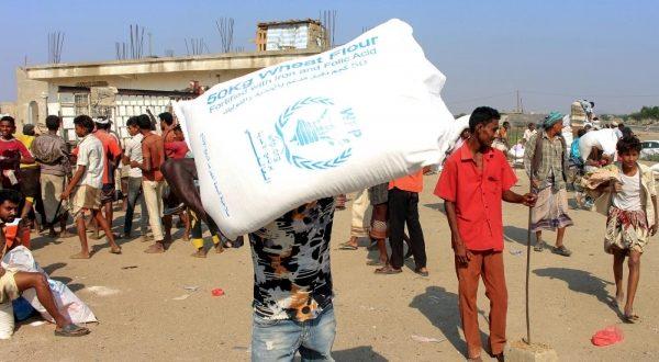 الغذاء العالمي: لن يتم صرف المساعدات النقدية بمناطق الحوثيين إلا بنظام البصمة