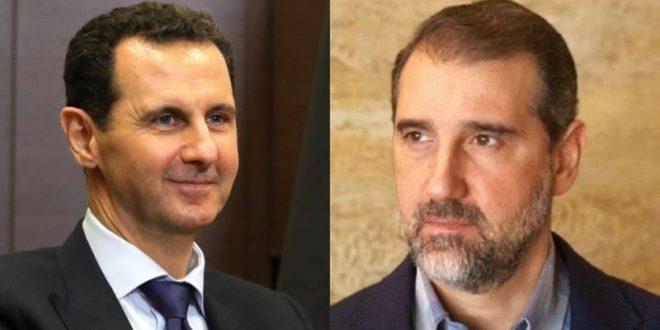 بشار الأسد ينقل خلافاته مع مخلوف لجنيف