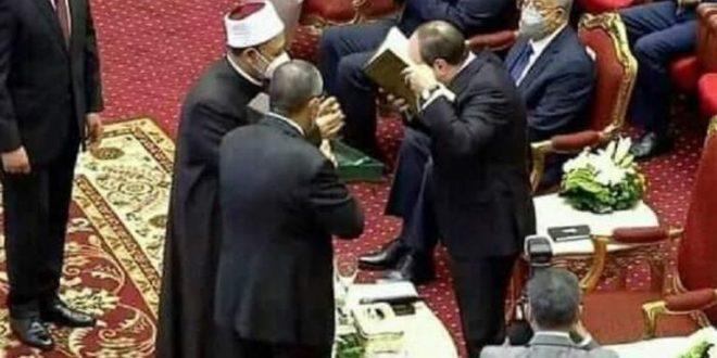 السيسي: مصر ماضية في تصحيح الخطاب الديني